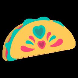 Tacos yummy flat