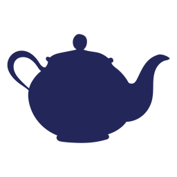 Tea pot london silhouette