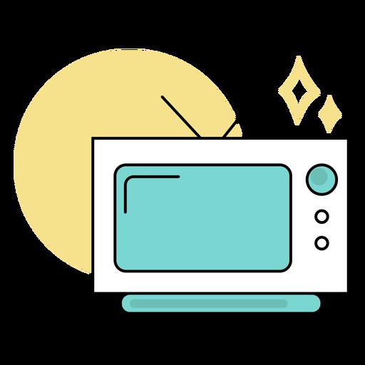 Television colored cute