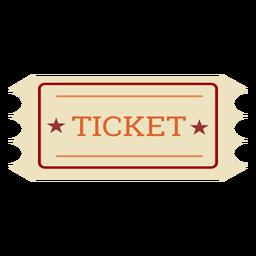 Elemento de cinema do bilhete