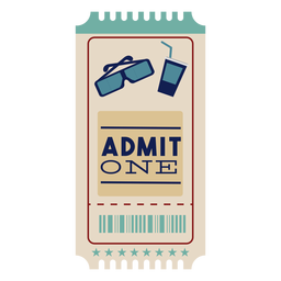 Ticket bonito cine