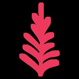Zweig einfache Weihnachten