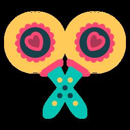 Two cute maracas