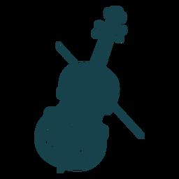 Golpe fofo de violino