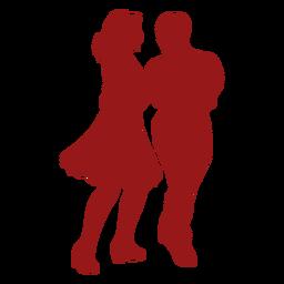 Dúo de baile de vals