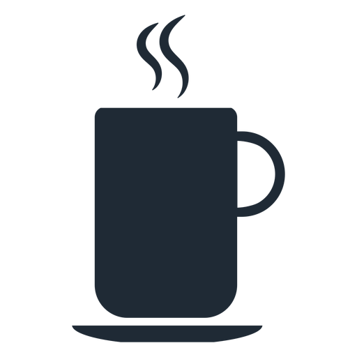 Warm Cup Silhouette Transparent Png Svg Vector File