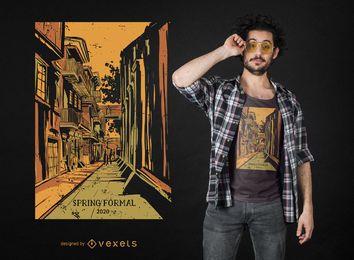Design de t-shirt de nova orleans