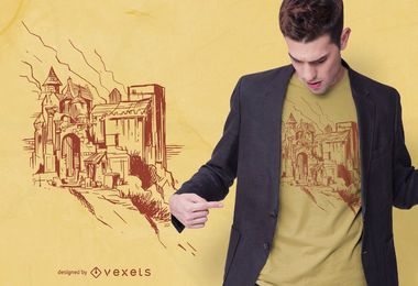 Schloss T-Shirt Design