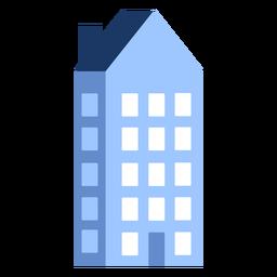 Building five floor house flat