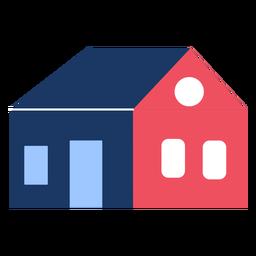 Edificio casa plana