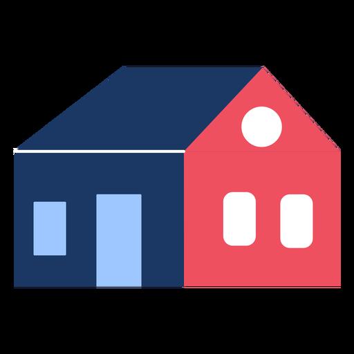 Building home flat Transparent PNG