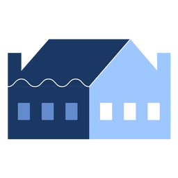 Building one floor house flat