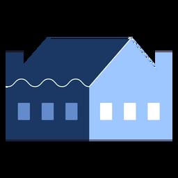 Construcción de casa de una planta plana