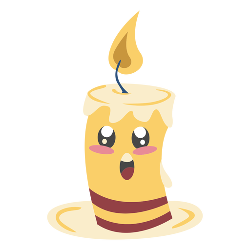 Character candle cute color Transparent PNG
