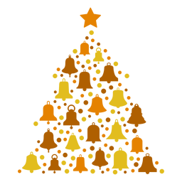 Campanas de árbol de navidad