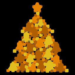Sinos da árvore de Natal