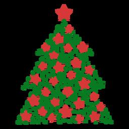 Weihnachtsbaumlinien