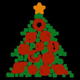 Weihnachtsbaum Planeten