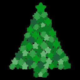 Árbol de navidad estrellas
