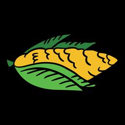 Cor de mão desenhada de milho