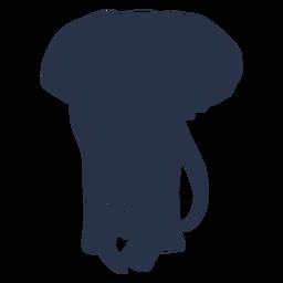 Cara llena de elefante