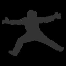 Salto de handebol feminino