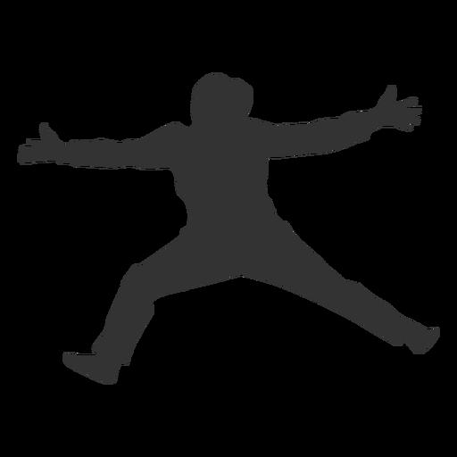 Female handball jumping