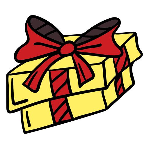 Gift hand drawn color Transparent PNG