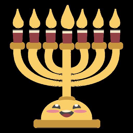 Hanukkah lampstand color lindo