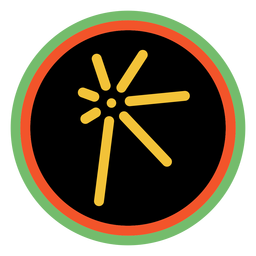 Kwanzaa badges cuumba dark