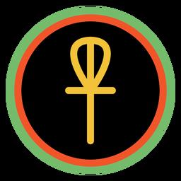 Kwanzaa emblemas imani escuro