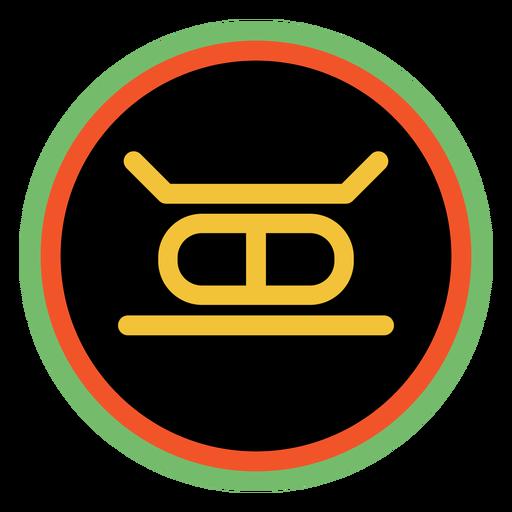 Kwanzaa badges kujichagulia dark