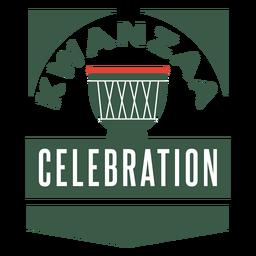 Kwanzaa badges kwanzaa celebration lettering