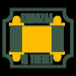 Insignias de kwanzaa kwanzaa hay letras