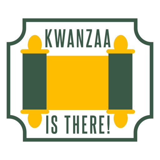 Insignias de kwanzaa kwanzaa hay letras Transparent PNG