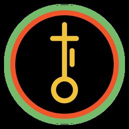 Kwanzaa emblemas nia dark