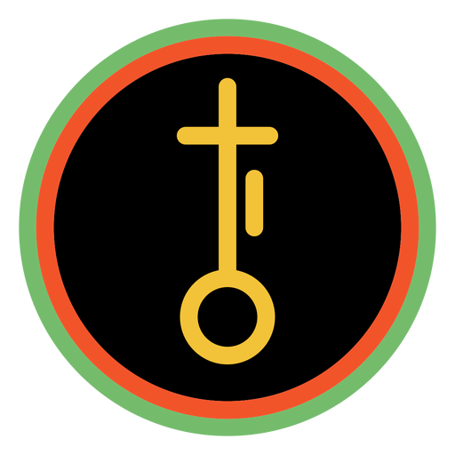 Kwanzaa badges nia dark Transparent PNG