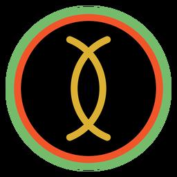 Kwanzaa emblemas ujamaa escuro