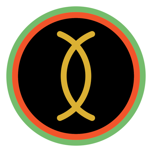 Kwanzaa badges ujamaa dark Transparent PNG