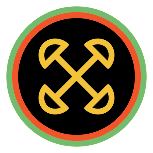 Kwanzaa badges ujima dark