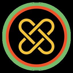 Kwanzaa emblemas umoja dark