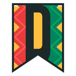 Kwanzaa banner letras d