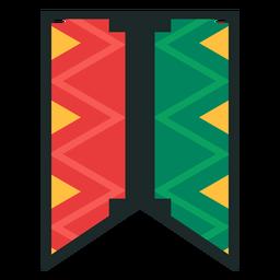 Kwanzaa banner letras eu