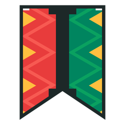 Kwanzaa banner letras i