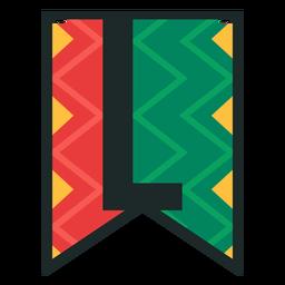 Kwanzaa banner letras l