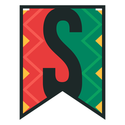 Kwanzaa banner letters s