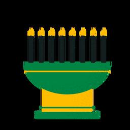 Kwanzaa candles kinara