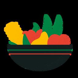 Cuenco de frutas Kwanzaa