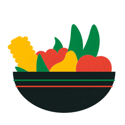 Kwanzaa fruits bowl