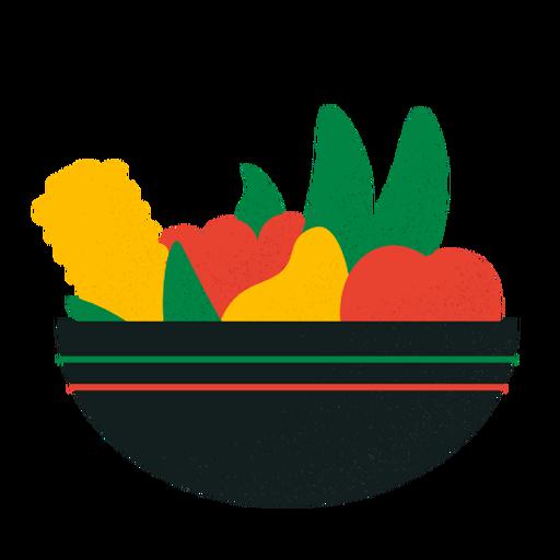 Kwanzaa fruits bowl Transparent PNG